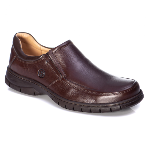 SAPATO ANATOMIC GEL 7902 FLOATER BROWN