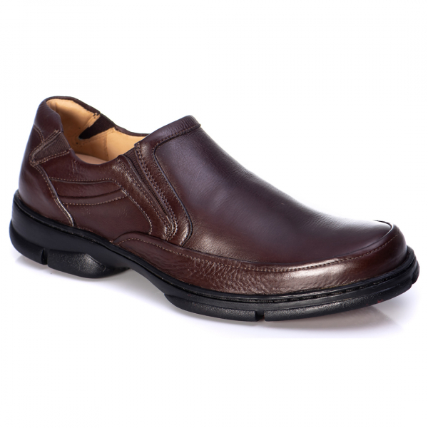 SAPATO ANATOMIC GEL 7842 FLOATER BROWN