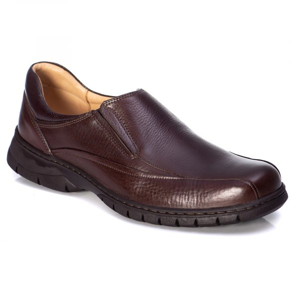 SAPATO ANATOMIC GEL 7910 FLOATER BROWN